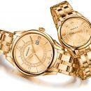 Купить женские и мужские золотые часы
