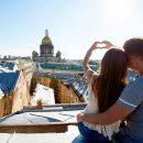 Организация свиданий на крышах Петербурга